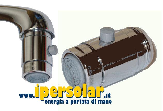 Kit risparmio idrico riduttori di flusso aereatori - Portata e pressione acqua ...