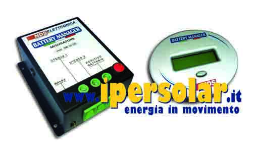 Battery Manager - Staccabatteria NDS con SMS di avviso