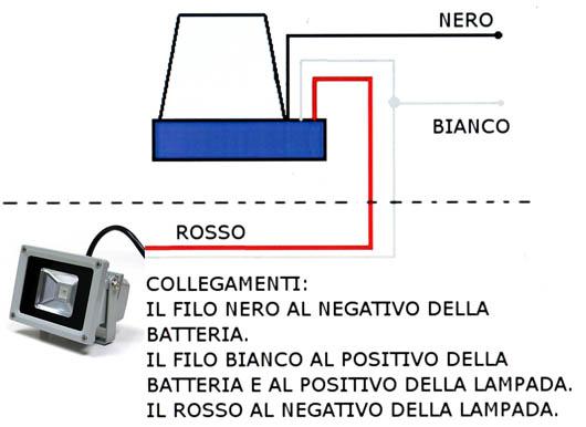 Schema Elettrico Crepuscolare : Interruttore a sensore crepuscolare v per uso
