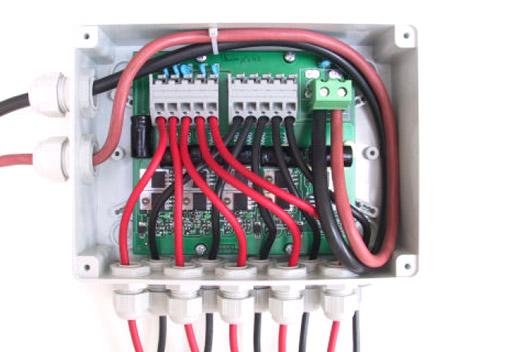 Schema Cablaggio Pannelli Fotovoltaici : Scatola di giunzione western co per moduli fotovoltaici