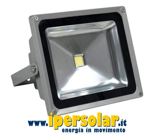 Faretto LED orientabile 20W 230V Luce CALDA 2700K