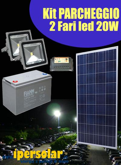Pannello Solare Con 2 Faretti : Illuminazione solare fotovoltaica da giardino
