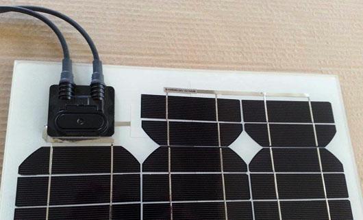 Pannello Solare Per Ricarica Batteria Barca : Pannello solare w v ricarica batteria tir ed