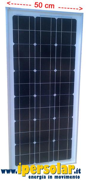 Pannello Solare Da Barca : Pannello fotovoltaico barca watt v mono larghezza