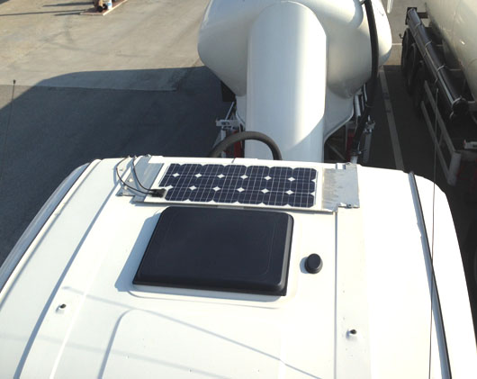 Pannello Solare Per Batteria : Pannello solare w v ricarica batteria tir ed