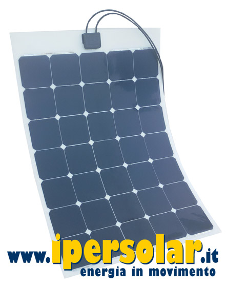 Pannello fotovoltaico FLESSIBILE 115W 12V celle SUNPOWER