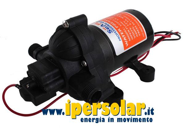 Kit fotovolaici pompaggio acqua - Portata e pressione acqua ...