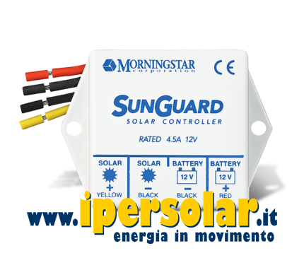 Regolatore di carica PWM Morningstar SunGuard SG4 4,5A