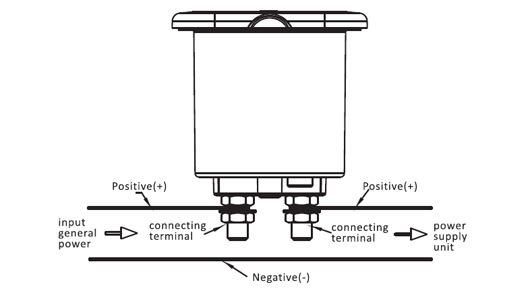 Schema Elettrico Per Interruttore : Interruttore di isolamento per batteria a v due