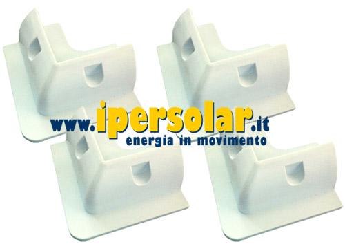 Quanto Costa Pannello Solare Per Camper : Staffe angolari universali in pvc per fissaggio pannelli