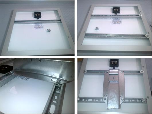 Supporto fissaggio testa palo per moduli fotovoltaici 20 40w 34.00