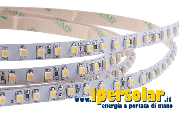 Strip led flessibile 12V (LED 3528) per esterno - 1 m