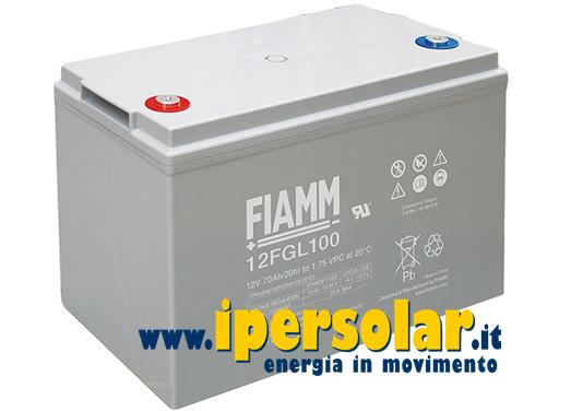 Pannello Solare 12 Volt Con Batteria : Batterie agm per fotovoltaico vendita online