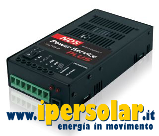 Power Service PLUS 12V 25A - Doppia alimen. Solare + Alternatore