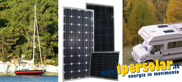 Schema Collegamento Fotovoltaico : Kit fotovoltaico per camper baite barche vendita online