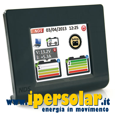 Display a colori touch-screen per regolatore SC300M NDS Energy