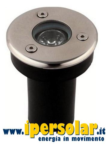 Faretto LED segnapasso da esterno 12V 3W - Luce naturale 4500K • IperSolar