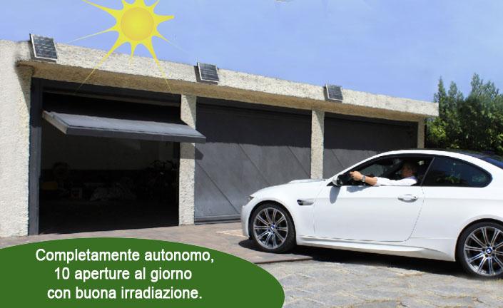 Kit solare automazione apertura garage 485.00eur u2022 ipersolar
