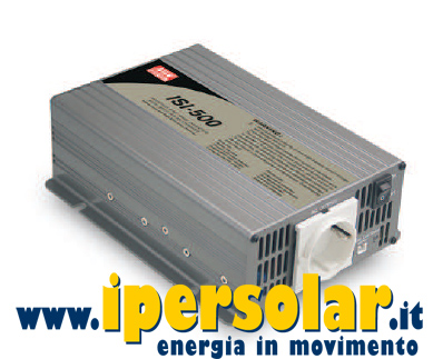 Inverter 500W 12V + regolatore MPPT 15A Mean Well ISI 501 212B