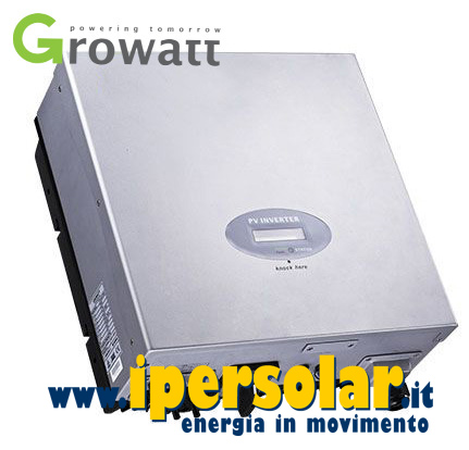 Inverter Growatt connesso in rete 1kW