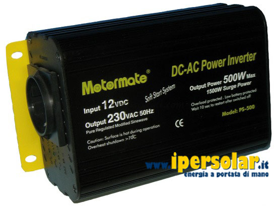 Inverter Power Saver 500W 12V