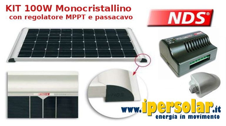 Pannello Solare Per Caricare Batteria Auto : Kit fotovoltaico per camper baite barche vendita online