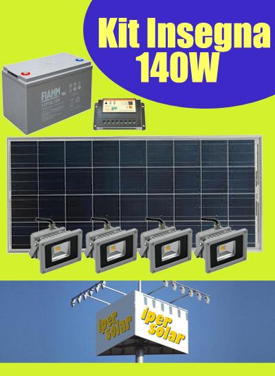 Kit Pannello Solare 10w : Insegne fotovoltaiche