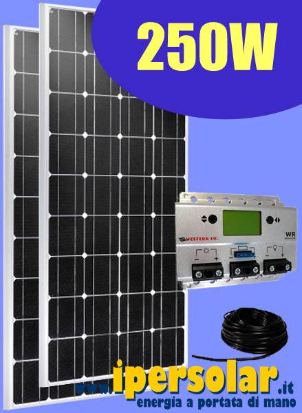 Kit Pannello Solare Camper 150w : Kit fotovoltaico per baite