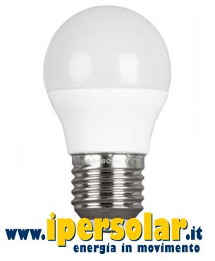 Lampadina LED a bulbo 4W 12V 24V Luce calda [attacco E27] • IperSolar