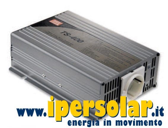 Inverter onda sinusoidale Mean Well 400W 12V AC 230V