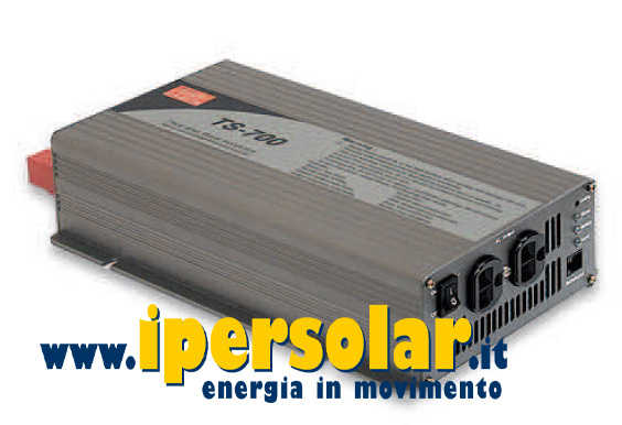 Inverter onda sinusoidale Mean Well 700W 12V AC 230V