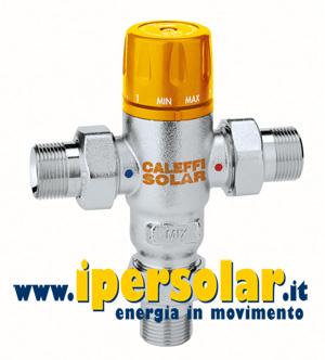 Miscelatore termostatico regolabile caleffi per impianti - Collettore idrico sanitario caleffi ...