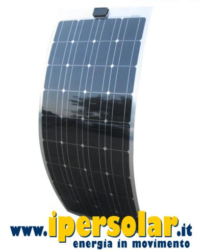 pannello solare flessibile per barca 100w 12v ipersolar