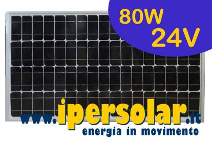 Moduli fotovoltaici 24v per camper serre nautica abitazioni