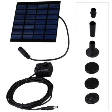 Micro pompa solare per stagni e fontanelle pompa solare for Pompa filtro laghetto solare