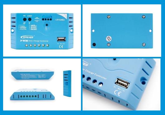 Regolatore di carica LS1012EU EPSOLAR 10A con presa USB