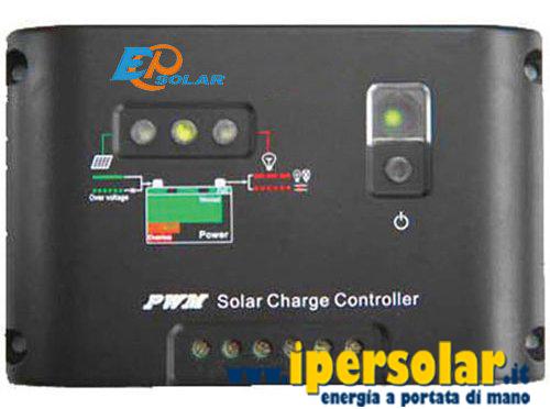 Regolatore di Carica 50A 12V//24V Juta CM5024Z per pannelli solari fotovoltaici