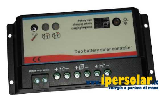 Schema Elettrico Regolatore Di Carica Per Pannelli Solari : Regolatore di carica duo a per due batterie epipdb com
